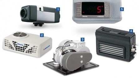 Sisteme de climatizare auto Webasto, prin GEMARAL